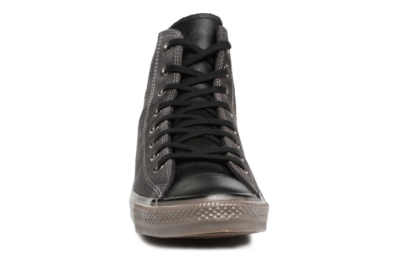 Sneaker Converse Ctas Distressed Hi M schwarz schuhe getragen