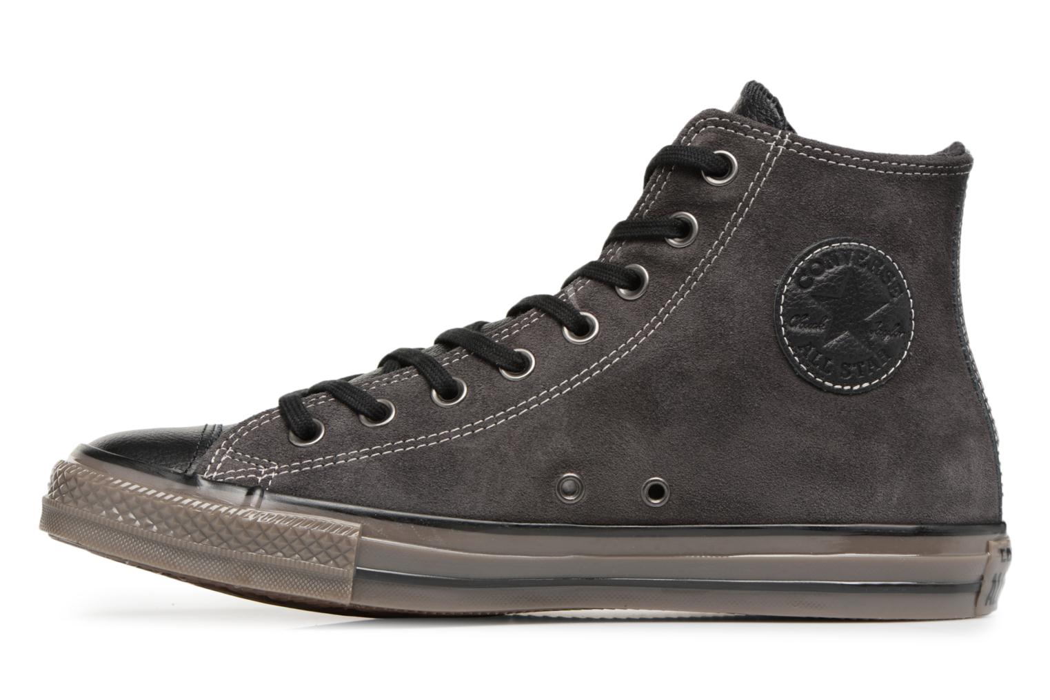 Baskets Converse Ctas Distressed Hi M Noir vue face