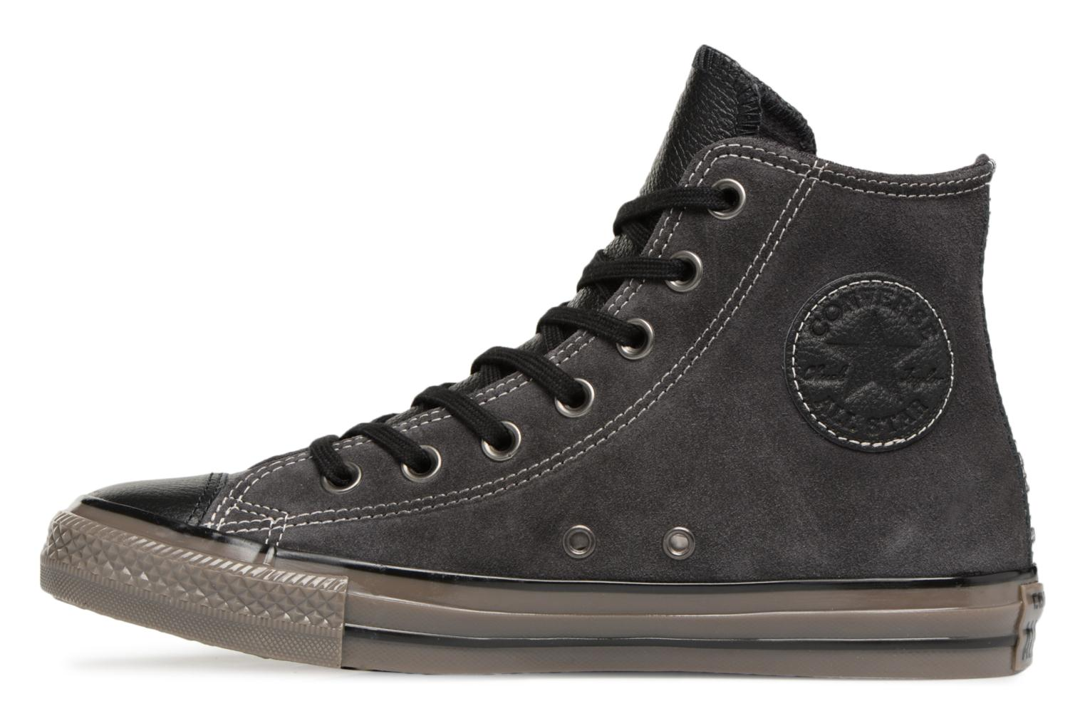 Baskets Converse Ctas Distressed Hi W Noir vue face