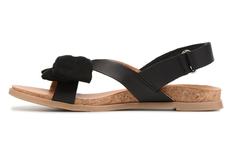 Sandales et nu-pieds UGG Fonda Noir vue face
