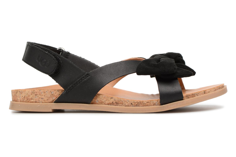 Sandales et nu-pieds UGG Fonda Noir vue derrière