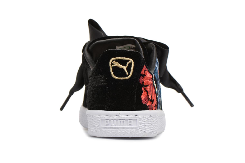 Baskets Puma Basket Heart Hyper Emb Wn's Noir vue droite
