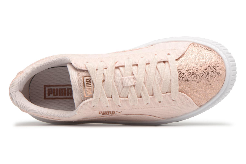 Korting Low Cost Puma Basket Platform Canvas Wn's Roze Releasedatums Korting Officiële Site 2018 Online Te Koop Goedkope Koop View 1aj7BxcXY9