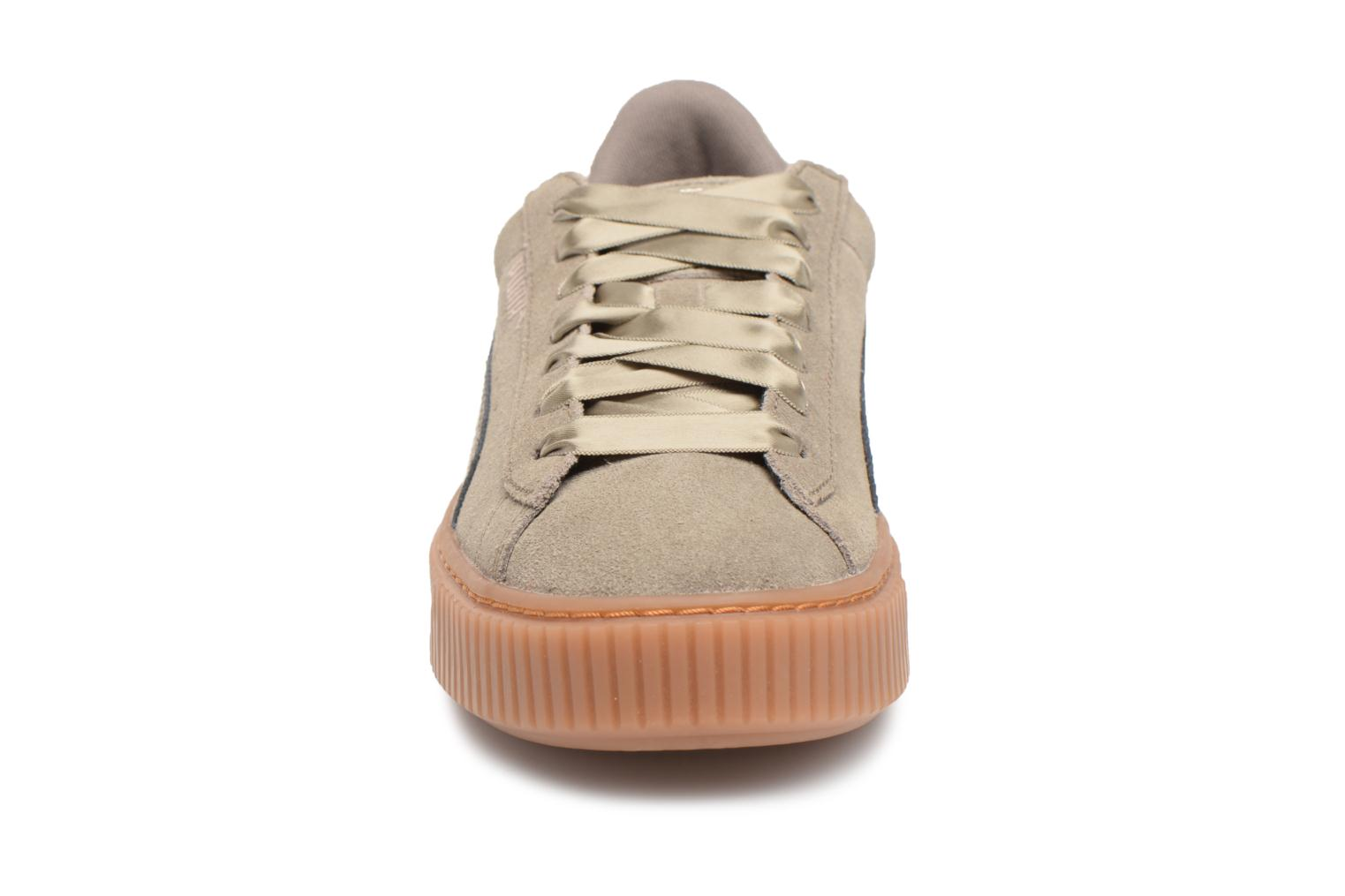 Suede Platform Bubble Wn's Bungee Cord