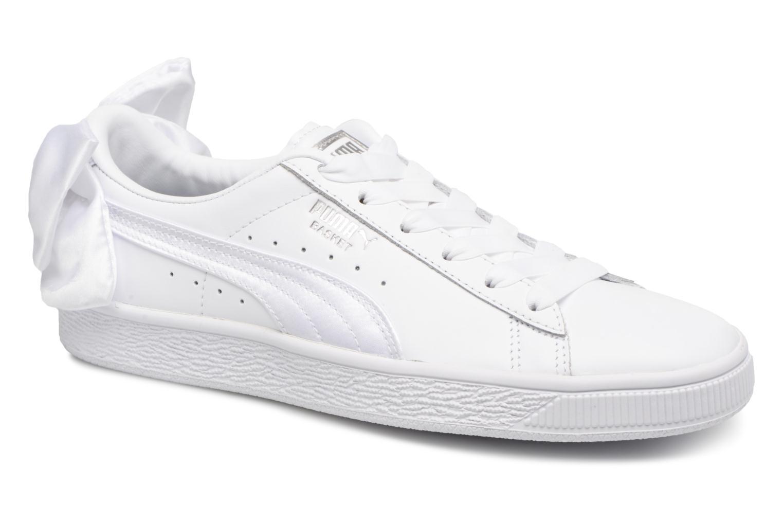 Grandes descuentos últimos zapatos Puma Basket Bow Wn's (Blanco) - Deportivas Descuento