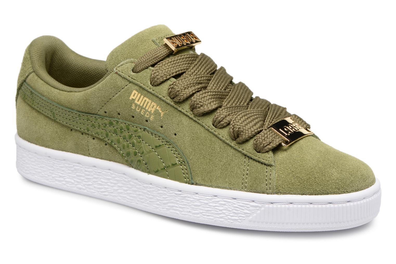 Zapatos promocionales Puma Suede Classic B-BOY Fabulous W (Verde) - Deportivas   Zapatos de mujer baratos zapatos de mujer