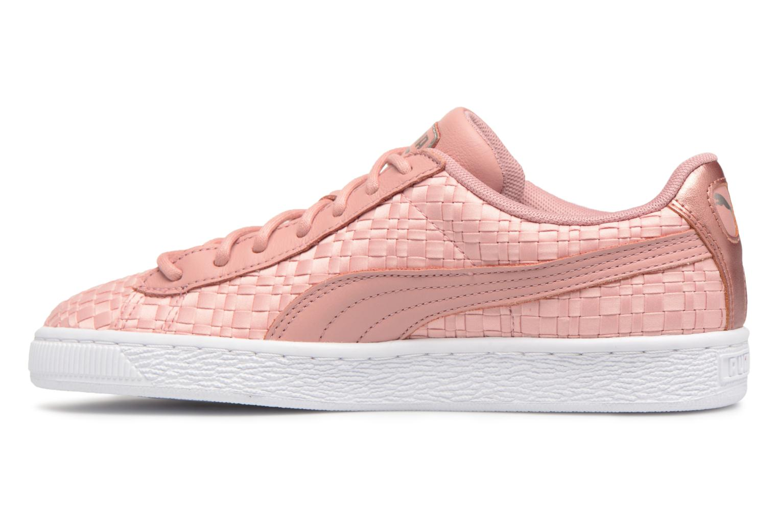 Baskets Puma Basket Satin EP Wn's Rose vue face