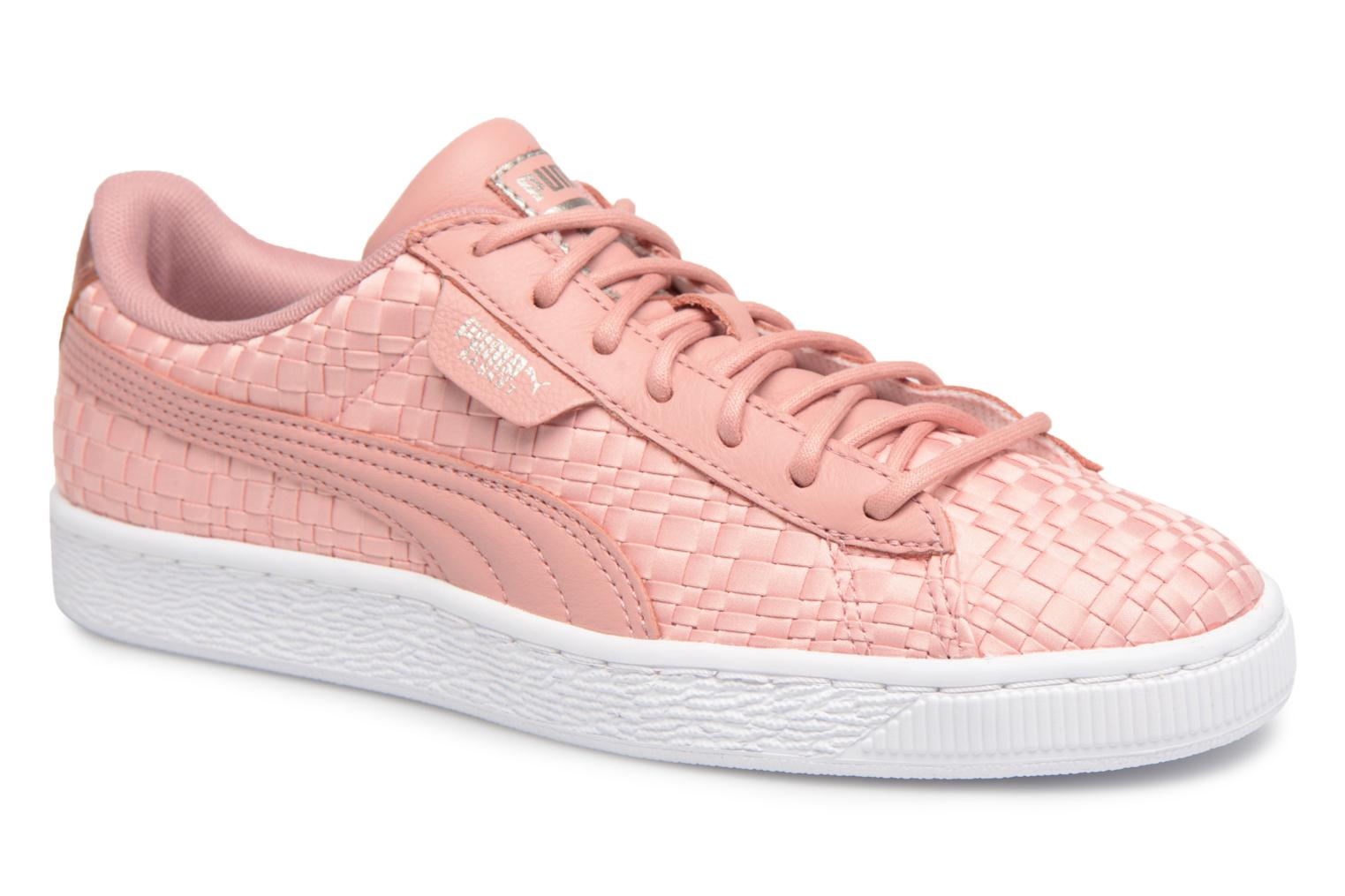 Baskets Puma Basket Satin EP Wn's Rose vue détail/paire