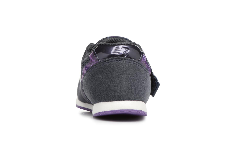 Sneakers New Balance FS996 I Blå Se fra højre