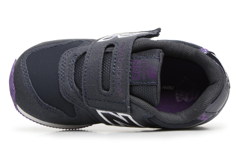 Sneakers New Balance FS996 I Blå se fra venstre