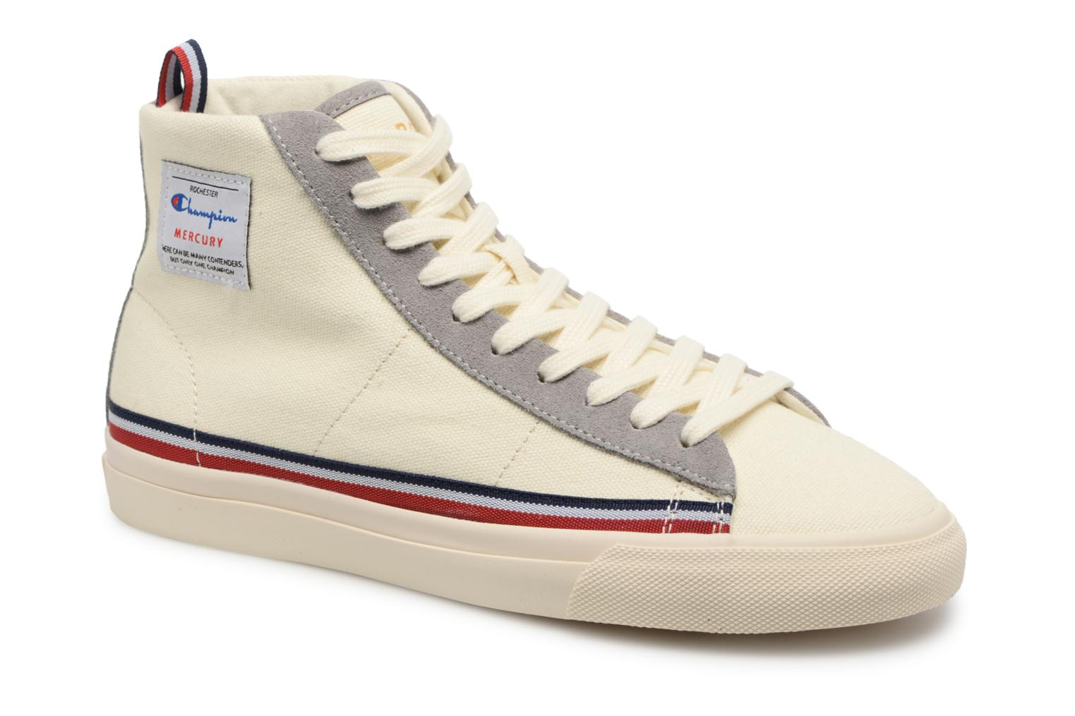 Zapatos promocionales Champion Mid Cut Shoe MERCURY MID CANVAS W (Blanco) - Deportivas   Casual salvaje