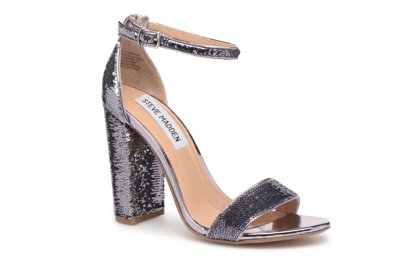 Steve Madden Carrson-S sandal (Argent) - Sandales et nu-pieds chez Sarenza (325728)