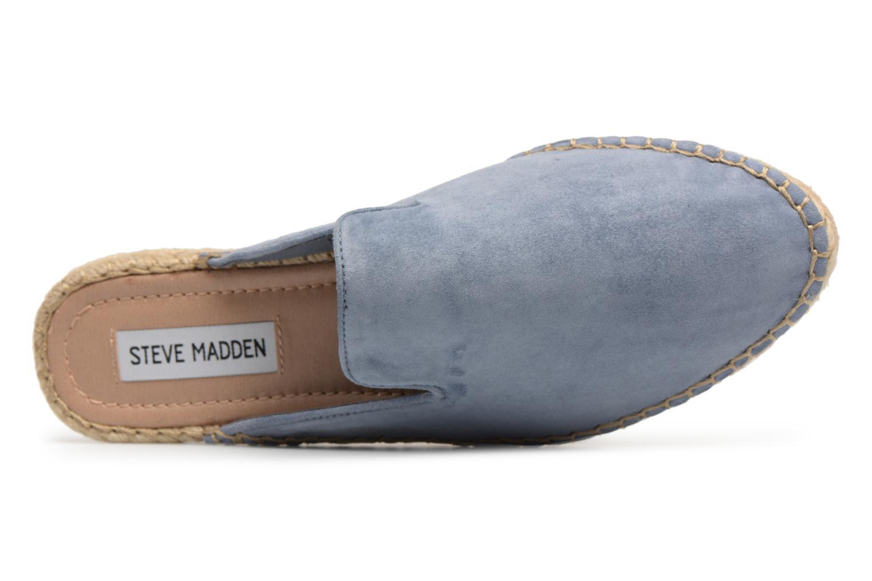 Espadrilles Steve Madden Joejoe Espadrille Bleu vue gauche