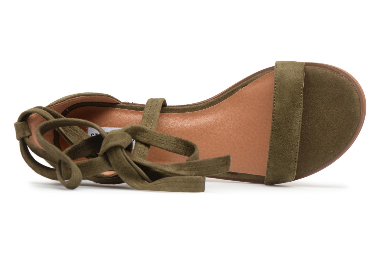 Sandales et nu-pieds Steve Madden Rizzaa Sandal Vert vue gauche