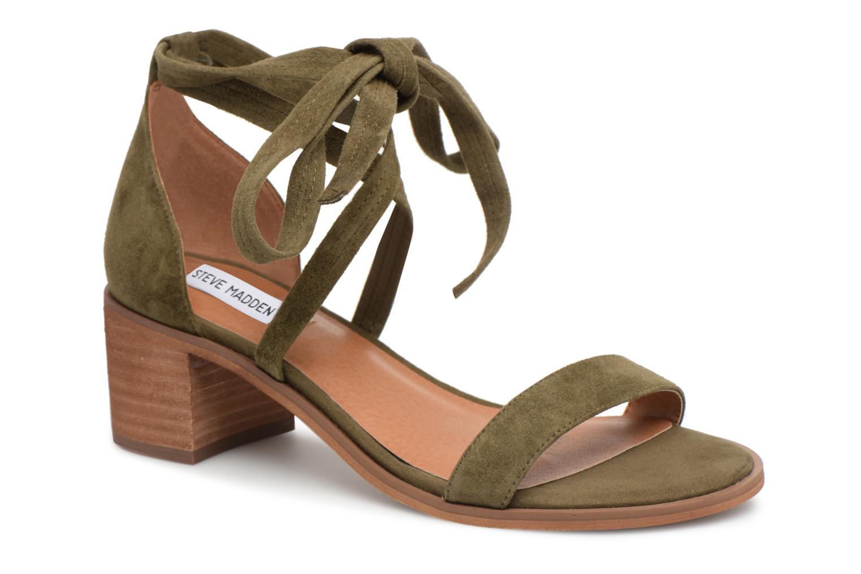Sandales et nu-pieds Steve Madden Rizzaa Sandal Vert vue détail/paire