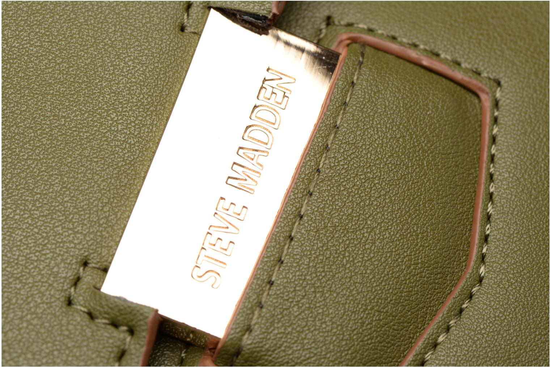 Handtaschen Steve Madden Bny grün ansicht von links