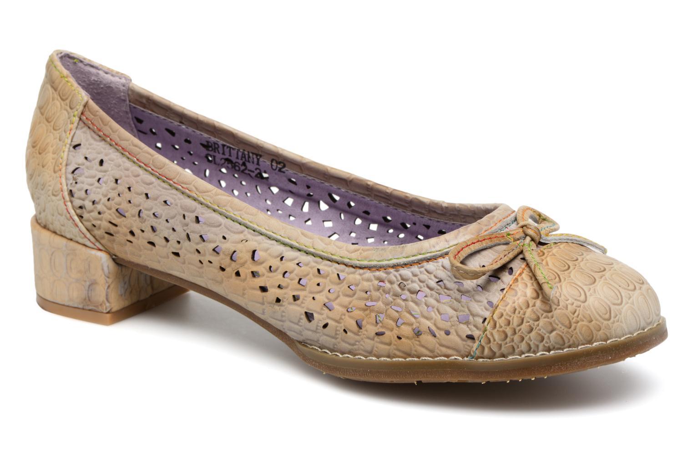 Grandes descuentos últimos zapatos Laura Vita BRITTANY 02 (Beige) - Bailarinas Descuento