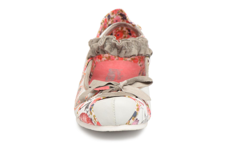 Ballerines Laura Vita SYMPA Multicolore vue portées chaussures