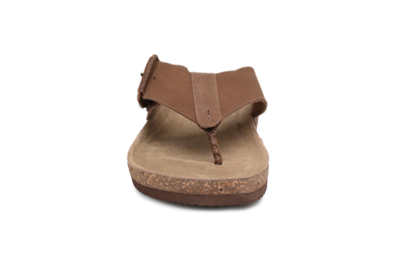 Flip flops Gioseppo KEYLO Brown model view