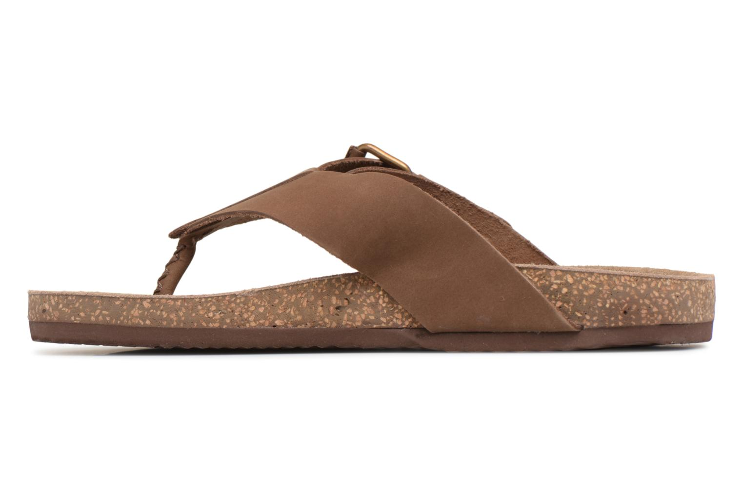 Flip flops Gioseppo KEYLO Brown front view
