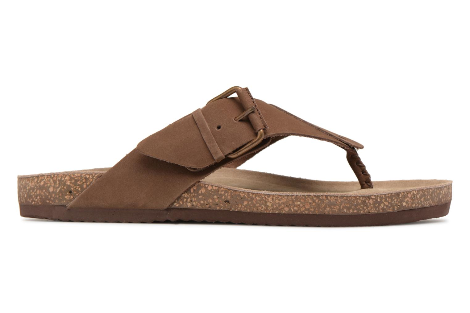 Flip flops Gioseppo KEYLO Brown back view
