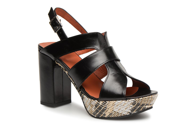Zapatos Zapatos Zapatos de hombres y mujeres de moda casual Elizabeth Stuart Byr 721 (Negro) - Sandalias en Más cómodo 4280ae