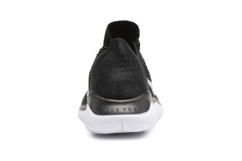 Chaussures de sport Nike Wmns Nike Free Rn Flyknit 2018 Noir vue droite