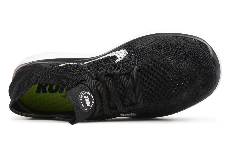 Chaussures de sport Nike Wmns Nike Free Rn Flyknit 2018 Noir vue gauche