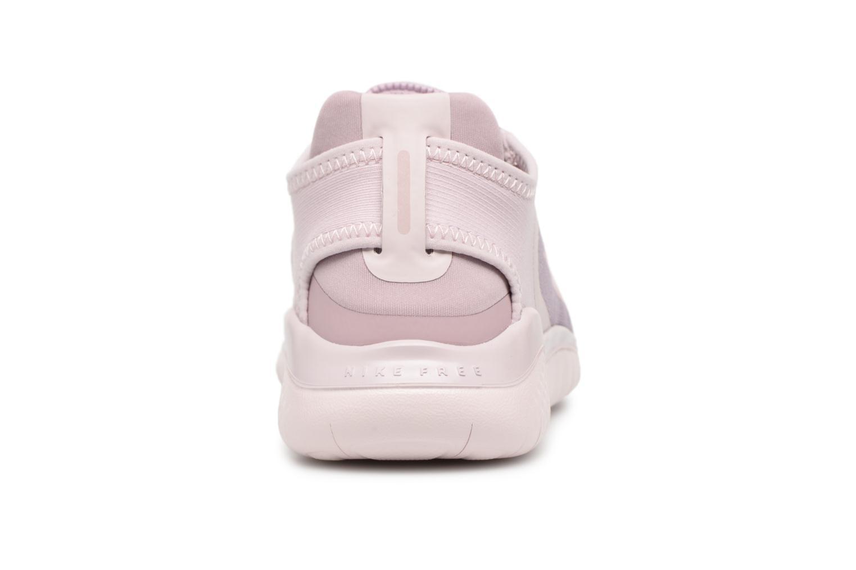 Chaussures de sport Nike Wmns Nike Free Rn 2018 Rose vue droite