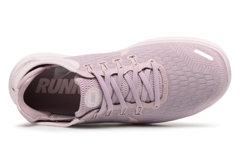 Chaussures de sport Nike Wmns Nike Free Rn 2018 Rose vue gauche