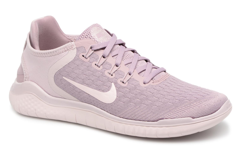 Chaussures de sport Nike Wmns Nike Free Rn 2018 Rose vue détail/paire