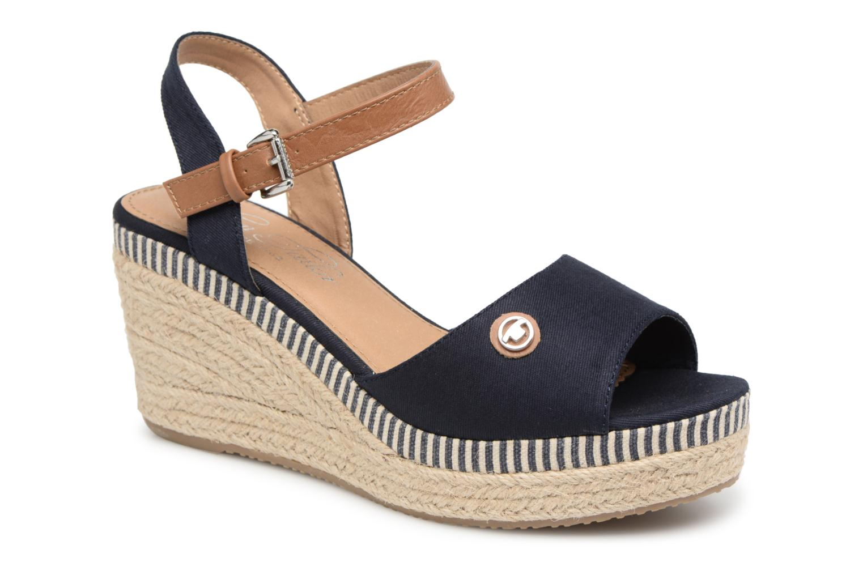 Tom Tailor Calixte (Bleu) - Sandales et nu-pieds chez Sarenza (327560)