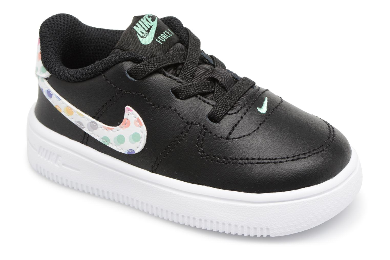 Nike FORCE 1 '18 PRINT (TD) / NOIR Noir - Chaussures Basketball