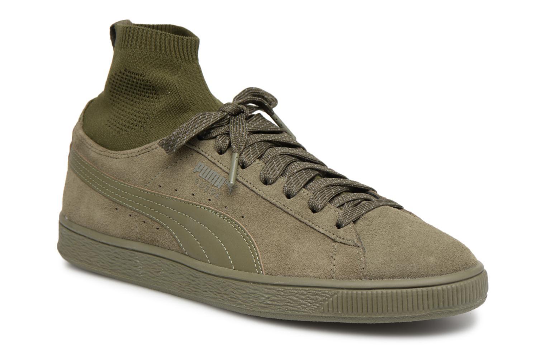 Puma - Baskets / Sneakers Suede Classic - Vert EChyUKgOLY