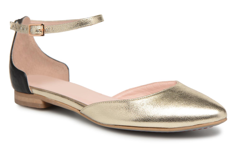 L37 - Damen - Without Borders - Ballerinas - gold/bronze JP3Tex