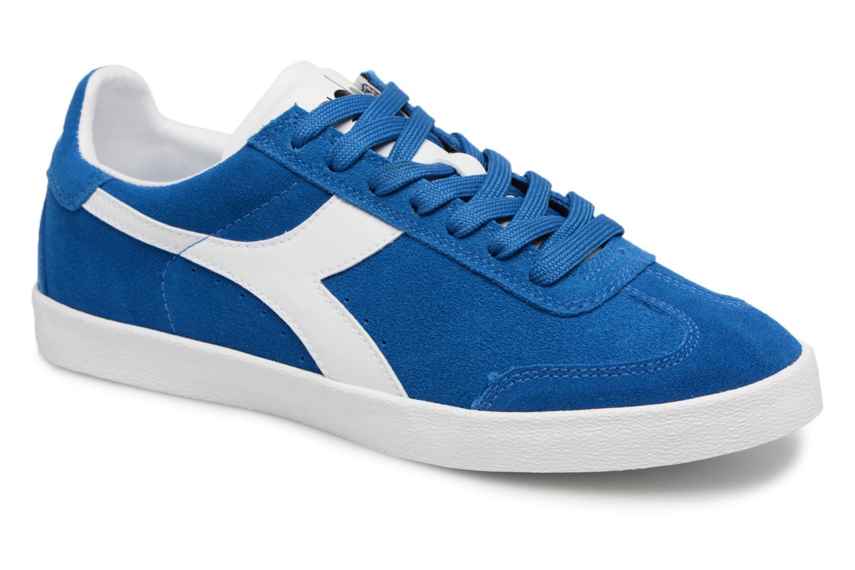 Diadora B.ORIGINAL VLZ W (Bleu) - Baskets chez Sarenza (328965)