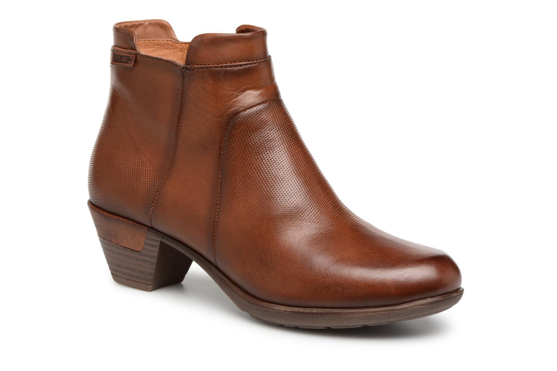 Grandes descuentos últimos zapatos Pikolinos Rotterdam 902-8735 (Marrón) - Botines  Descuento