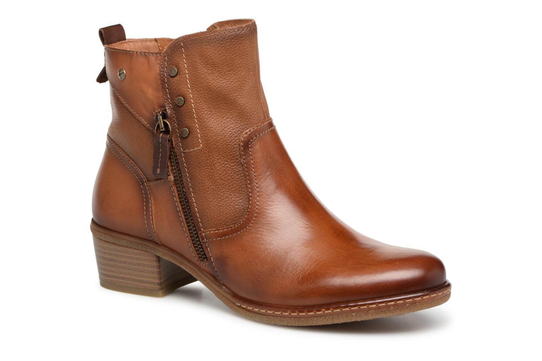 Grandes descuentos últimos zapatos Pikolinos Zaragoza W9H-8704 (Marrón) - Botines  Descuento