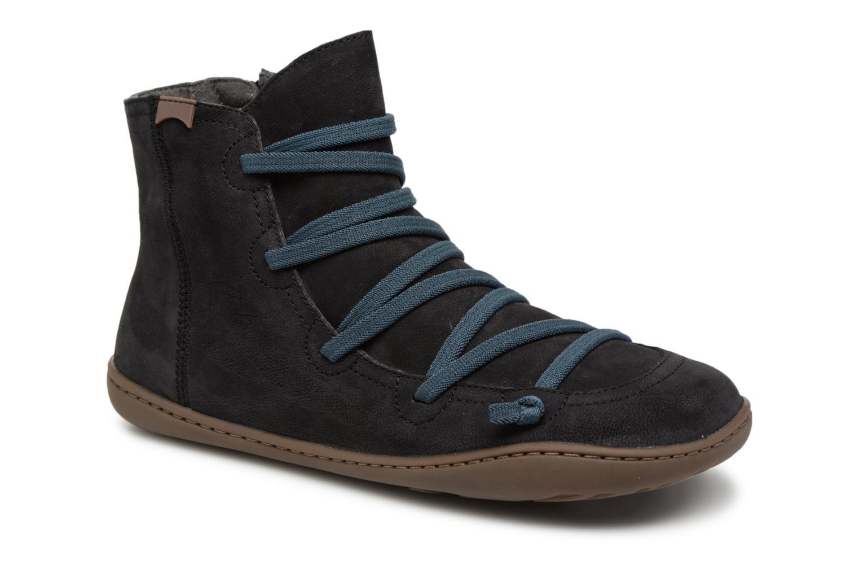 Grandes descuentos últimos zapatos Camper Peu Cami 43104 (Negro) - Botines  Descuento