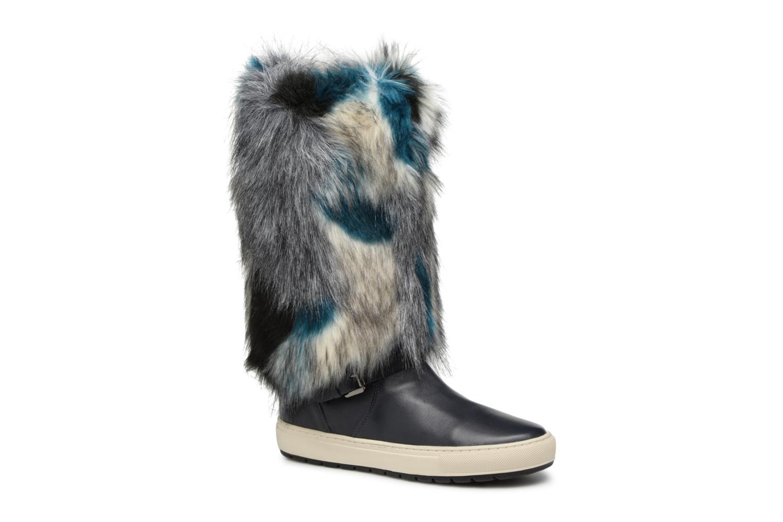 Marques Chaussure femme Geox femme D BREEDA F D642QF BLACK/DK ROSE
