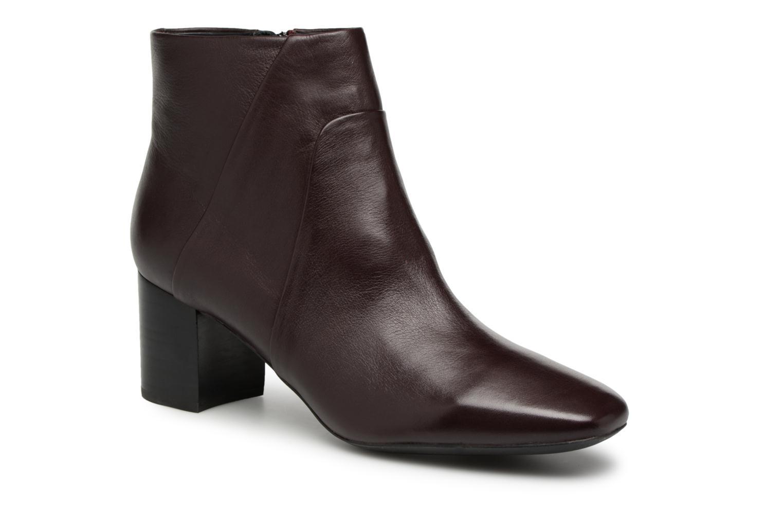 Zapatos promocionales Geox D N.SYMPHO D642WA (Vino) - Botines    Cómodo y bien parecido