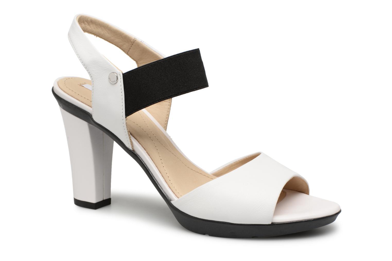 Grandes descuentos últimos zapatos Geox D JADALIS A D721VA (Blanco) - Sandalias Descuento