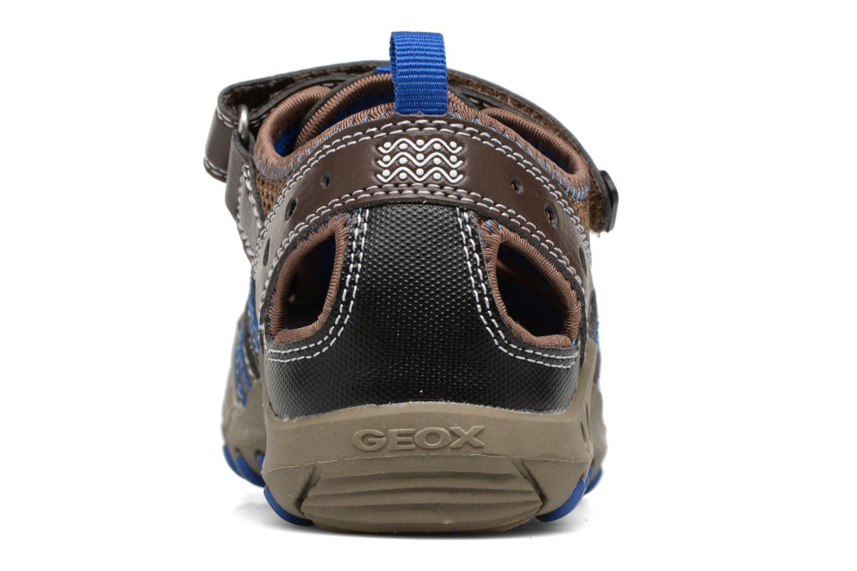 Sandales et nu-pieds Geox J SAND.KYLE A J72E1A Marron vue droite
