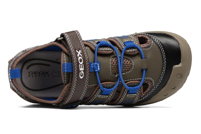 Sandales et nu-pieds Geox J SAND.KYLE A J72E1A Marron vue gauche