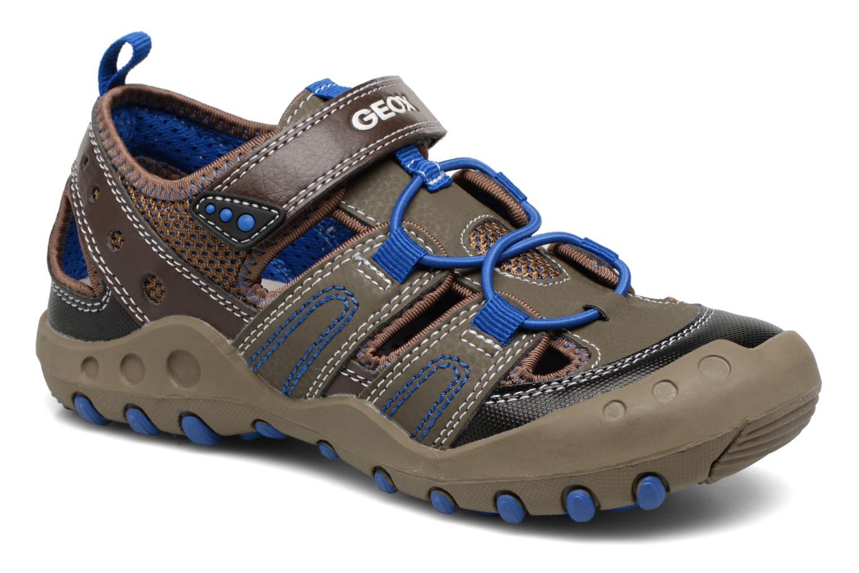 Sandales et nu-pieds Geox J SAND.KYLE A J72E1A Marron vue détail/paire