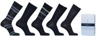 Socken & Strumpfhosen Accessoires GIFT BOX CHAUSSETTES MEN DUO STRIPES LOT DE 5