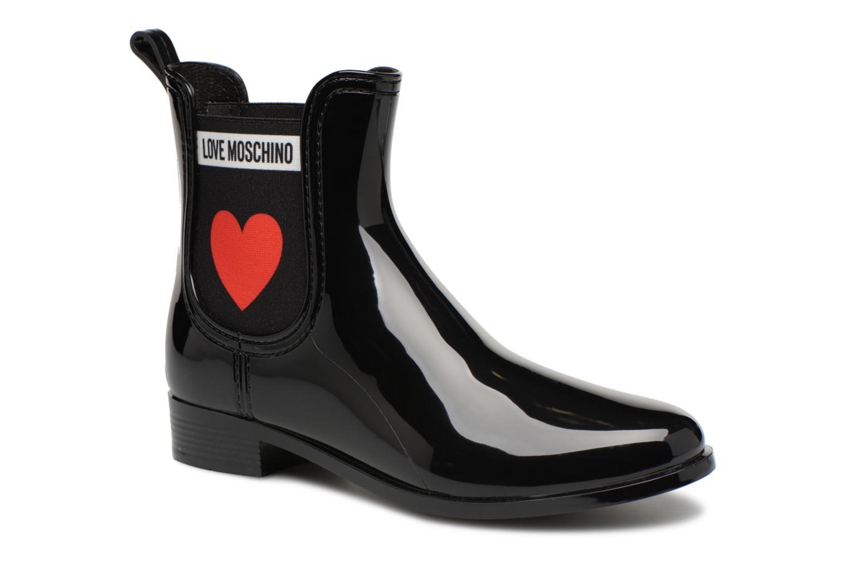 Nuevos zapatos para hombres y mujeres, descuento por tiempo limitado Love Moschino Rain Plain Anckle Boot (Negro) - Botines  en Más cómodo