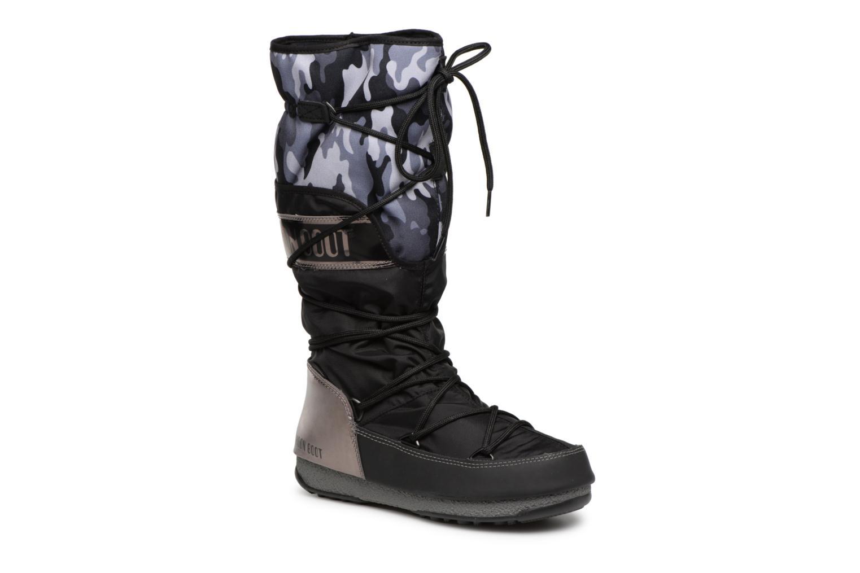 Grandes descuentos últimos zapatos Moon Boot anversa camu (Negro) - Zapatillas de deporte Descuento