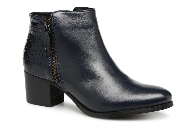 Zapatos de mujer baratos zapatos de mujer Georgia Rose Aligatora (Azul) - Botines  en Más cómodo