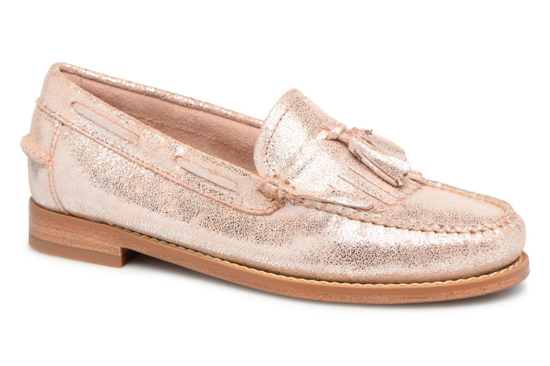 Grandes descuentos últimos zapatos G.H. Bass WEEJUN WMN Esther Suede (Rosa) - Mocasines Descuento